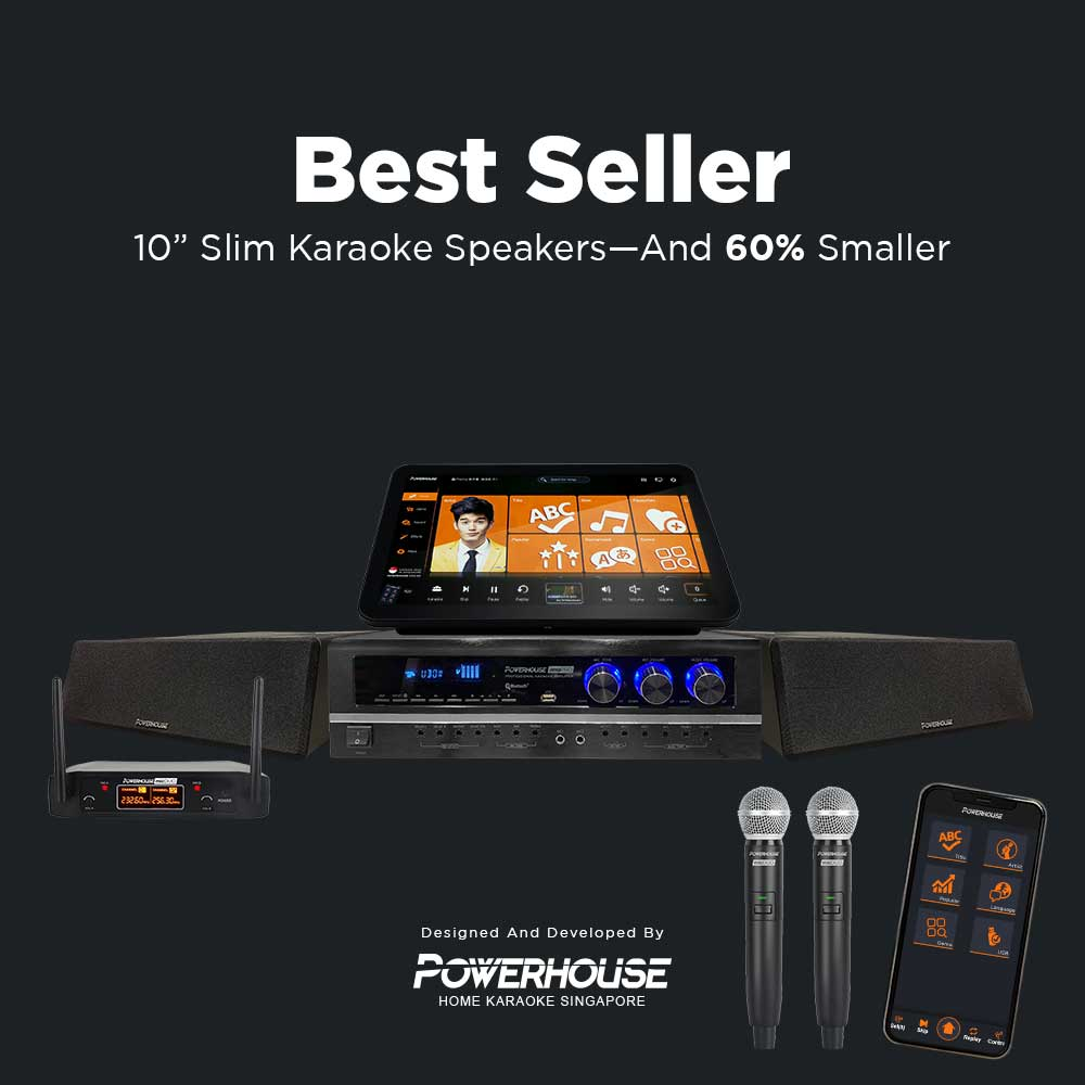 Touchscreen Karaoke Box With Best Seller Home Karaoke System Singapore