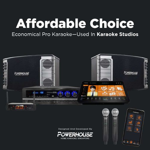 Touchscreen Karaoke Box With Affordable Karaoke System Singapore