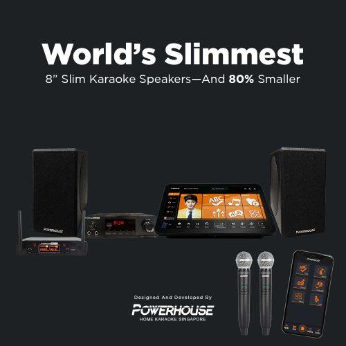 """Slimmest 8"""" Home Karaoke"""
