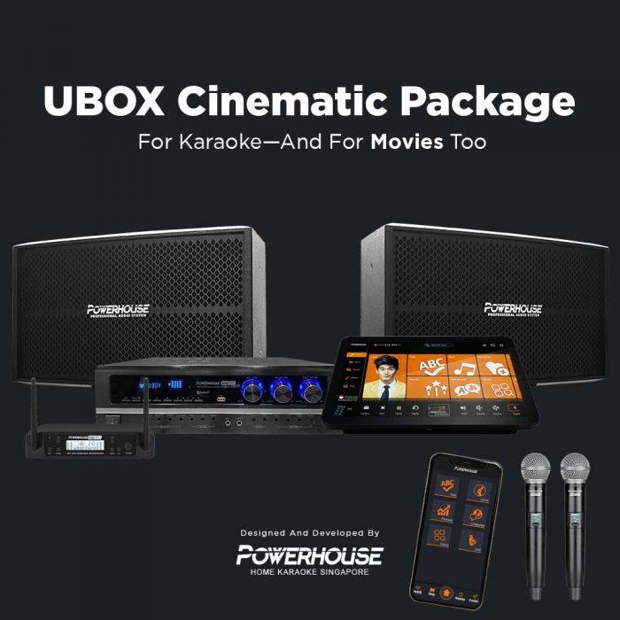 UBOX Cinematic Karaoke System Package