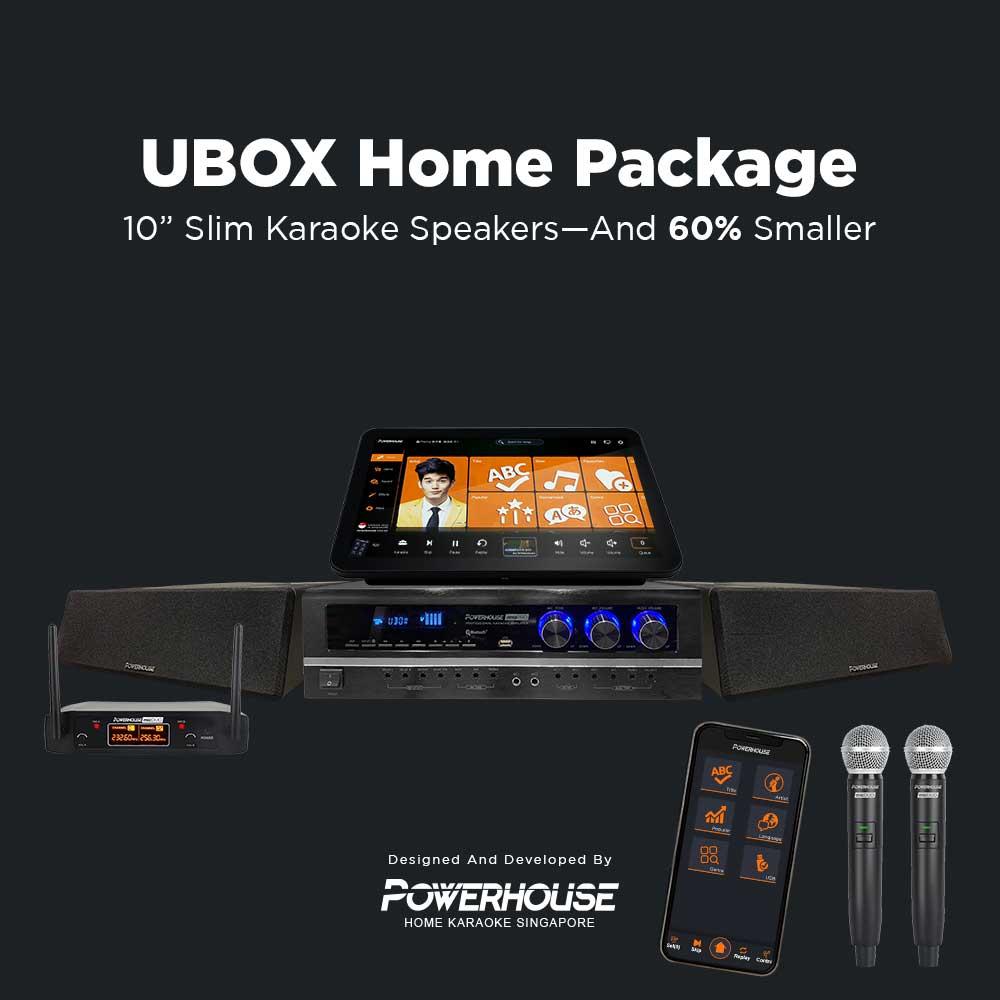 UBOX Home Karaoke System Package